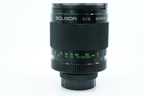 Soligor C/D 500mm f8  รูปขนาดปก ลำดับที่ 4 Soligor C/D 500mm f8