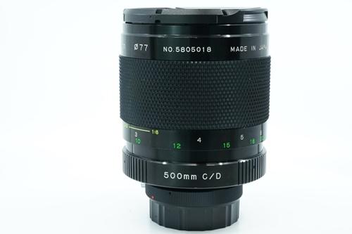 Soligor C/D 500mm f8  รูปขนาดปก ลำดับที่ 6 Soligor C/D 500mm f8