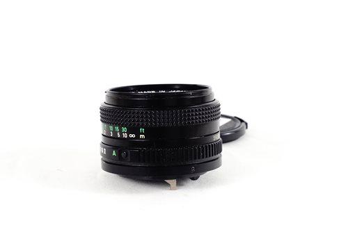เลนส์มือหมุน Canon FD 50mm f1 8 (FD) - LensSeed com
