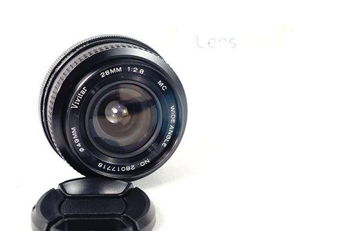 เลนส์มือหมุน Vivitar 28mm f2 8 (PK) - LensSeed com